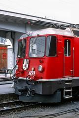 20020926-008 Rhätische Bahn (Wim van der Ent) Tags: rhätischebahn rhb davos graubünden zwitserland dieschweiz