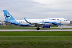 XA-MBA Interjet A320 (twomphotos) Tags: plane spotting yul cyul 24l rwy 06r interjet airbus a320