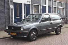 VW Polo 2 1.3 Fox 3-5-1990 YK-95-FN (Fuego 81) Tags: vw polo 2 1990 yk95fn onk sidecode4 volkswagen