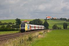 ALEX ER 20-003 + ALX 86706 München Hbf - Oberstdorf - St Alban (Rene_Potsdam) Tags: alex bayern railroad treinen trains trenes züge europe europa deutschland er20 görwangs siemens dispolok