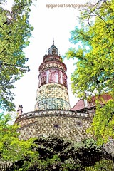 Cesky Krumlov (eugenioperegringarcia) Tags: ceskykrumlov repúblicacheca czech torre medieval