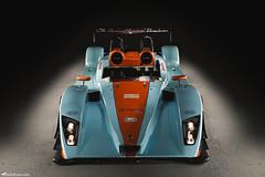 Caterham SP300R - Front (Rick Nunn) Tags: racecar daylight moody orange lowkey blue caterham strobist becauseracecar dark sp300r thetracklife gulf car trackcar uk attack