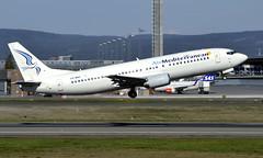 Air Mediterranean SX-MAH  , OSL ENGM Gardermoen (Inger Bjørndal Foss) Tags: sxmah airmediterranean boeing 737 osl engm gardermoen