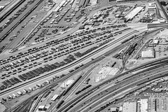 Did You Mean to Break My Heart and Watch Me Die? (Thomas Hawk) Tags: america bayarea california eastbay northerncalifornia oakland portofoakland sfbayarea usa unitedstates unitedstatesofamerica westcoast aerial bw norcal fav10 fav25