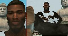 FREE MAX B (BAILOUT BABY) Tags: model ebony designer secondlife sl slavi avi 3d gamer gaming rare fashion new york harlem