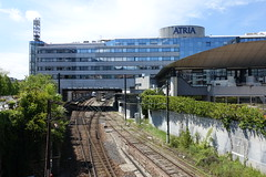 Train tracks @ Novotel Annecy Centre Atria Hotel @ Annecy (*_*) Tags: may 2019 printemps spring morning matin annecy 74 hautesavoie france europe savoie city rail traintracks hotel