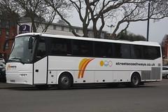 WA11HXV - Streets Coachways, Barnstaple (lazy south's travels) Tags: exeter devon england english britain british uk bus coach bova futura rail train replacement service wa11hxv streets coaches