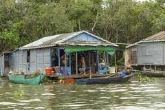 Tonle Sap Lake Family (oldbourbonguy) Tags: cambodia siemreap siemreapprovince tonlesaplake