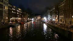 Buildings, Netherlands (Sylar8travel) Tags: buildings netherlands building amsterdam city water night waterway