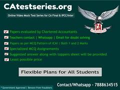 CA Final Mock Test Series - Best Online Platform (catestseries) Tags: ca final mock test series best online platform