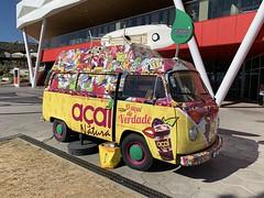 Food Van -  Algarve, Portugal - May 2019 (firehouse.ie) Tags: combivan vwcombi combi portugal louie algarve lcv camionette fourgon van volkswagon volkswagen vw be mobileshop foodtruck food