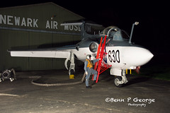 BUCCANNER-S1-LM-630-XN964-9-3-19-NEWARK-AIR-MUSEUM-(12) (Benn P George Photography) Tags: winthorpe newarkairmuseum 9319 bennpgeorgephotography nightshoot buccanner xn964 royalnavy fighter fastjet photoshoot nikon nikond7100 d7100 nikon18105vr newark notts