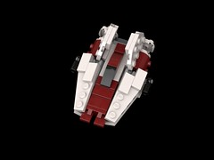 LEGO Mini A-Wing small (Cpt. Ammogeddon) Tags: empire star war space battle moc custom lego mini collect wing rebel fight sky air s awing work progress update mod scale episode vehicle craft toy kid adult play teen white red wars movie model ship kit small version