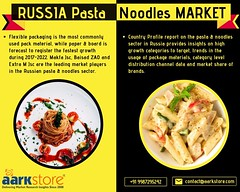 Pasta and Noodles in Russia Market Research Report and Industry Analysis 2022 (charanjitaark) Tags: pastaandnoodlesinrussia russianpastaandnoodlesmarketreport russianpastaandnoodlesindustry russiapastaandnoodlesmarket russianpastaandnoodlessector