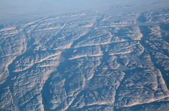 Cracks In The Landscape (peterkelly) Tags: digital canon 6d northamerica nunavut canada arctic tundra rocky rock fissure snow winter ice canadian