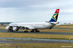 South African Airways Airbus A340-642  |  ZS-SND  |  Frankfurt Rhein-Main  - EDDF (Melvin Debono) Tags: south african airways airbus a340642 | zssnd frankfurt rheinmain eddf cn 531 melvin debono spotting canon plane planes photography airport airplane aviation aircraft fra germany deutschland