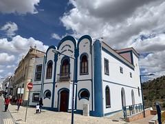 Cinema / Theatre Building - Mértola, Portugal (firehouse.ie) Tags: stteets street movietheater unusual structure premises beja building buildings theatre cinema architecture portugal mértola