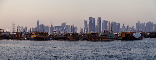Doha City panorama