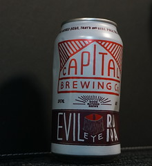 An election night craft beer (spelio) Tags: wine label beer ipa red local