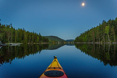 Full moon kayaking (Norwegian Outdoors) Tags: nature kayak lake pond water boat kayaking canoe canoeing trees tree blue river fish fishing moon fullmoon forest outdoors pentax pentaxk1 beautiful serenity calm reflection reflections boats norway norge naturelover natur travel adventure outdooradventure outdoorphotography