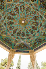 Coupole (hubertguyon) Tags: iran perse persia asie asia moyen proche orient middle east chiraz shiraz ville city tombe tomb grave hafez poete poet mausolée mausoleum