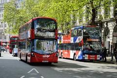 VWH2426 LK67EZP (PD3.) Tags: volvo wright metroline vwh2426 vwh 2426 lk67ezp lk67 ezp london bus buses england uk sight seeing sightseeing open top topper topless tour tourbus