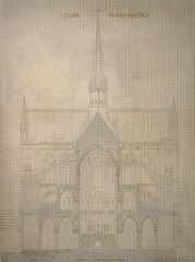 Notre_Dame_03 (Chris Protopapas) Tags: paris gothic cathedral notredame notredamedeparis section architecture france drawing violetleduc transverse