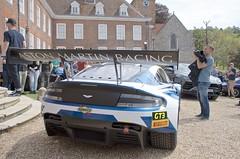 Aston Martin Vantage GT3 V8 Race Car (John McCulloch Fast Cars) Tags: aston martin gt3 v8 blue white
