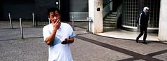 Smoking (Bone Setter) Tags: streetphotography birmingham people candid chinesequarter person man chinese smoking street