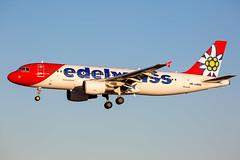 HB-JJM Airbus A320-214 Edelweiss Air (Andreas Eriksson - VstPic) Tags: hbjjm airbus a320214 edelweiss air