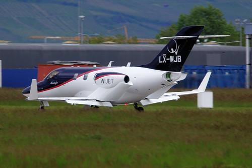 LX-WJB(cn 42000035) Honda HA-420 HondaJet Flying Group Luxembourg