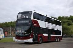 Lothian Buses SJ19 OVX (1064) | 2019 SVBM Open May Day | Scottish Vintage Bus Museum, Fife (Strathclyder) Tags: lothian buses lothianbuses volvo b8l alexander dennis adl enviro 400 xlb e400xlb sj19ovx sj19 ovx 1064 scottishvintagebusmuseum svbm lathalmond fife scotland lothiancity central bus2020