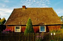 2012-10-02 Loryniec (135) (aknad0) Tags: polska loryniec krajobraz wieś budynki drzewa
