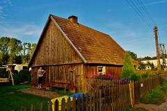 2012-10-02 Loryniec (134) (aknad0) Tags: polska loryniec krajobraz wieś budynki drzewa