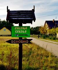 2012-10-02 Loryniec (130) (aknad0) Tags: polska loryniec krajobraz wieś budynki drzewa