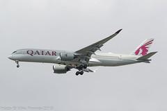 A7-ALV - 2017 build Airbus A350-941, on approach to Runway 23R at Manchester (egcc) Tags: 106 a350 a350900 a350941 a359 a7alv airbus egcc lightroom man manchester qr qtr qatarairways ringway
