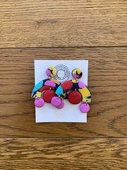 #earrings #handmade #polimericclay #etsy #colors #yellow #pink #red #blue #orange #handmadejewelery #earringsale #instagram —> Plasticariciclatainpurgatorio on Instagram!!! ☀️ (Plasticariciclatainpurgatorio) Tags: earrings handmade polimericclay etsy colors yellow pink red blue orange handmadejewelery earringsale instagram