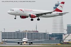 A320_OS790 (OTP-VIE)_OE-LXE & A320_BA697 (VIE-LHR)_G-EUYG_1 (VIE-Spotter) Tags: vie vienna airport flughafen wien flugzeug loww planespotting airplane
