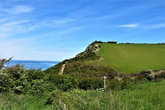 Ceredigion Coast Path near New Quay, West Wales (HighPeak92) Tags: coastalfootpaths ceredigioncoastpath walescoastpath newquay ceredigian westwales canonpowershotsx700hs