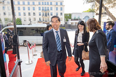 OECD Forum 2019: Arrivals (Organisation for Economic Co-operation and Develop) Tags: headquarter 2019oecdforum ocde arrivals oecd paris france china majiantang vicepresident secretaryoftheleadingpartymembergroupchina