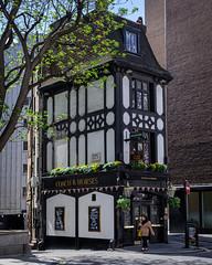 The Coach and Horses, Mayfair. (Yo_Nayson) Tags: architecture pub publichouse london mayfair tudor street fujifilm
