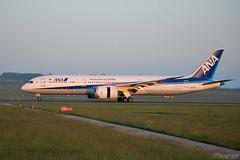 JA871A 20190518 VIE B (SzépRichárd) Tags: aircraft airplane airport ana boeing 787 loww