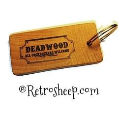 Deadwood - All Cocksuckers Welcome Novelty Joke Key ring Fob #Deadwood #deadwoodmovie #joke #gift #personalised #deadwoodtvseries #fuckyoucocksuckers #retrosheep Retrosheep.com (RetrosheepCharms) Tags: retrosheep handmade gifts deals giftideas