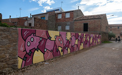 GarGar Festival, Penelles (imægo the ill iterator) Tags: graffitti grafitti grafiti graffiti penelles illustration gargar festival village catalonia spain streetart urbanart rural illustrated animals