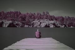 _MG_0835[1] (Arte Nocturno) Tags: 720nm arareko lago infrarrojo paisaje colores