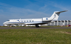 HAF_GLF5_678_BRU_MAY2019 (Yannick VP) Tags: military governmental vip vvip dignitary presidential passenger pax transport aircraft airplane aeroplane jet jetliner airliner bizjet businessjet haf hellenic airforce greece government haf352b 352 squadron gulfstream g550 gv glf5 678 brussels airport bru ebbr belgium be europe eu may 2019 aviation photography planespotting airplanespotting airside platform tarmac taxi taxiway twy j