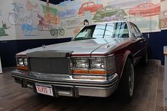 Beaulieu,21 (doojohn701) Tags: vintage retro elvis historic american car cadillac 57 v8 chrome burgundy museum reflection beaulieu display dorset uk