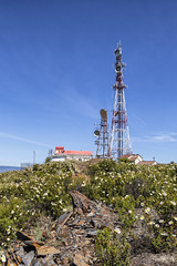 Cima de Matachines (lebeauserge.es) Tags: cerveradebuitrago madrid españa naturaleza campo atazar antena cielo nubes