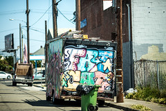 Fat Cat (Thomas Hawk) Tags: america califronia eastbay fatcat oakland usa unitedstates unitedstatesofamerica graffiti truck