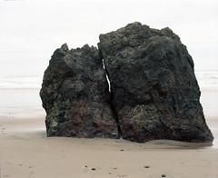 Arcadia. Rock with a view (Kent C.) Tags: mamiyarb67pros film filmphotography kodakportra160 mediumformat 6x7 120film